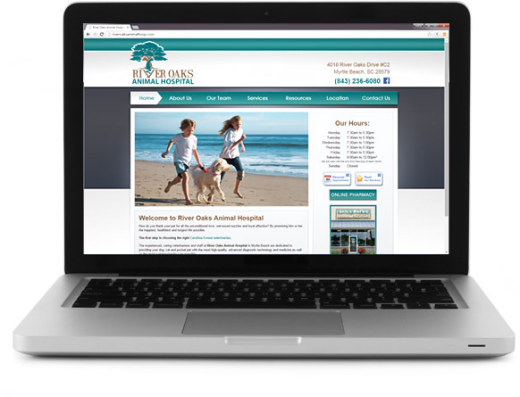 Affordable Veterinary Website Design