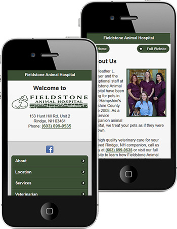 mobile sites for vets